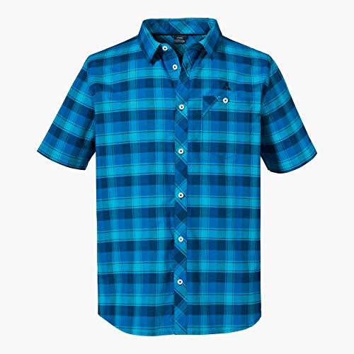 Schöffel Herren Shirt Bischofshofen3 Hemd, Directoire Blue, 58