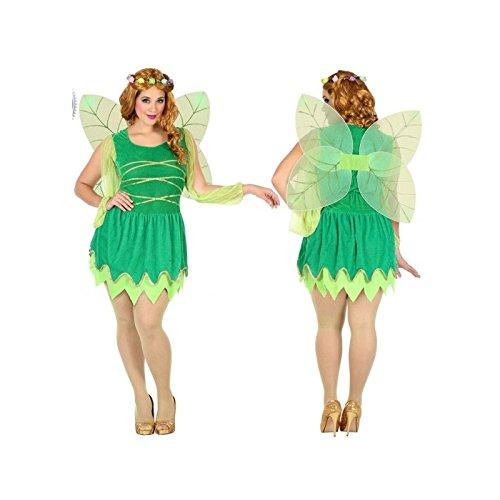 Atosa-39551 Disfraz Hada, Color Verde, XXL (39551)