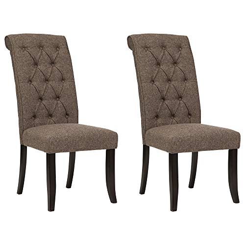 Signature Design by Ashley Tripton Dining Room Chair Set of 2, Graphite