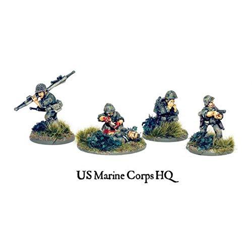 Bolt Action - USMC HQ & Squad