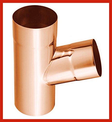 Rohrabzweig 72° Kupfer in allen Größen (wählbar) (A)
