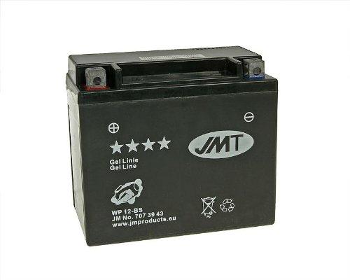 Batterie JMT GEL Line jmtx12-bs für Piaggio X101254V ie Sport (2014)