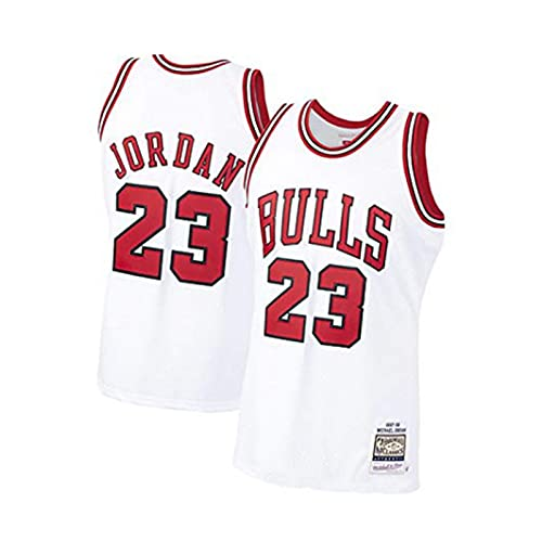 Chicago Bulls Michael Jord/an NBA Jersey Transpirable Chaleco sin Mangas Camiseta Bordado Baloncesto Deportes Top