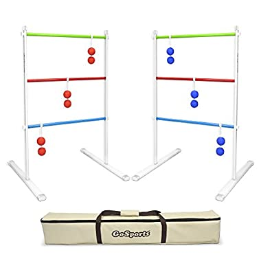 GoSports Premium Metal Ladder Toss Game Set