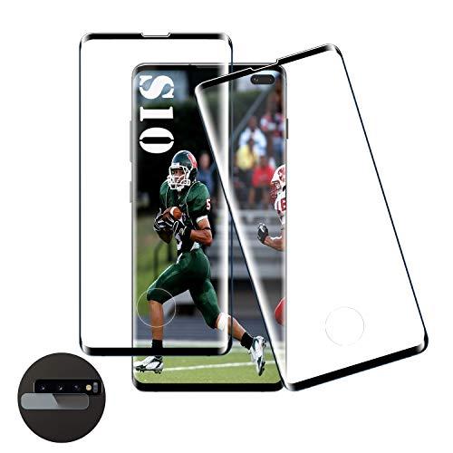 Panzerglas Schutzfolie für Samsung Galaxy S10, [2 Stück][9H Härte] Gehärtetem Glas Displayschutzfolie [Anti-Kratzer] [Blasenfreie] Panzerglas Schutzfolie für Samsung Galaxy S10