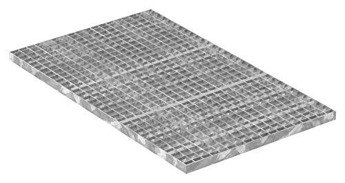 Fenau | Gitterrost/Industrie-Rost/Garagen-Rost, Maße: 1000 x 600 x 30 mm, MW: 30/30 mm, Materialstärke: 3 mm - Radlast: 2,29 kN/Flächenlast (m²): 11,76 kN, feuerverzinkt, Pressrost