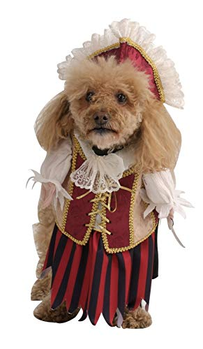 Rubie's Costume Co Pirate Queen Pet Costume, X-Large, X-Large - coolthings.us