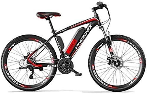 Bicicleta eléctrica de nieve, 26,5 pulgadas bicicleta eléctrica 250W bicicleta de montaña 36V agua y al polvo de litio-ion for ciclo al aire libre Trabajar el cuerpo Viaje Batería de litio Playa Cruis
