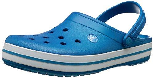 Crocs Crocband - Zuecos unisex para adultos, hombres y mujeres, ultramarino,