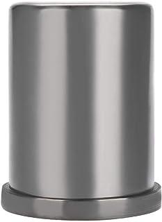 Qkiss 1kg/2kg/3kg Molde para Fundició de Metales, Crisol de Grafito Fundido de Alta Pureza Herramienta de Fusión de Crisol para Oro Plata Cobre Latón Metales de Aluminio(3 KG)