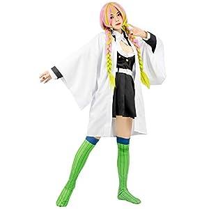C-ZOFEK Kanroji Mitsuri Cosplay Costume Womens Kimono Outfit