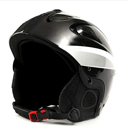 modo Casco De Esquí Casco De Snowboard para Hombres, Mujeres Y Jóvenes, Seguridad De Rendimiento con Ventilación Activa, Casco De Bicicleta De Carretera con Almohadillas De Repuesto