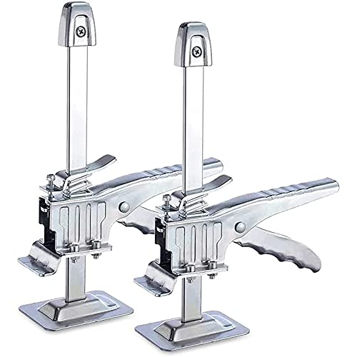 Didad 2 Confezioni Hand Tool Jack Braccio Salva-Lavoro per la Regolazione del Posizionamento di Pannelli di Gesso Armadi Porte Piastrelle per Pavimenti