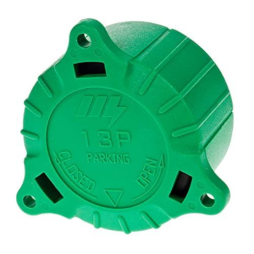 Maypole 1280B Cap für 8 Pin, 13 polig, Grün
