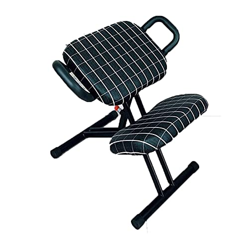 zmmuh Kneeling Chair Kneeling Chair Orthopedic Chair Spine Correction Functional Chair, Ergonomic Computer Chair Office Chair (Color : C)