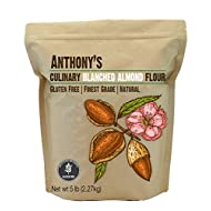Anthony's Almond Flour Blanched Culinary Grade, 5 lb, Batch Tested and Gluten Free, Keto Friendly