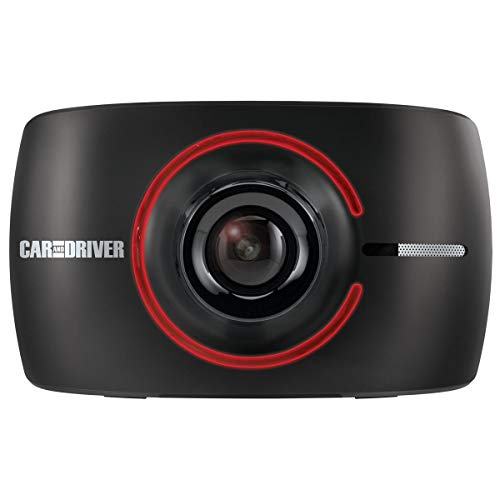 """Car and Driver 3"""" Full HD OLED Road Patrol Touch Dash Cam with Drivesmart Alert System, Black"""