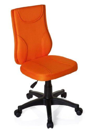 HJH Office Kiddy Base Bureaustoel voor kinderen oranje