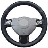 NsbsXs Für Opel Astra (H) Signum Corsa 2004 2009 Zaflra (B) 2005 2014 Vectra (C) 2005 2009 Black Car Steering Wheel Cover