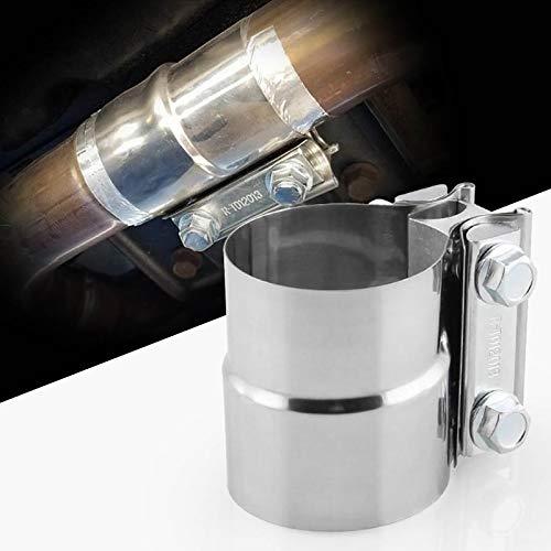 Nkesisha Pong Stahl Lap Joint Band Clamp Auto Turbo Auspuffrohr Edelstahl 2.5 Zoll