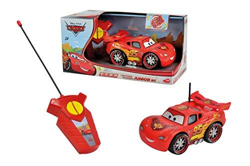 Majorette - 213089574 - Cars - Flash Mc Queen - Vehicule Pre - Scolaire RadioCommandé - Echelle 1/30ème