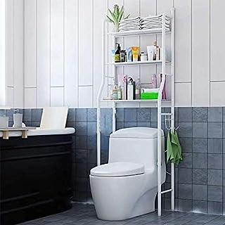 ARTC 3 Shelf Bathroom Space Saver,Over The Toilet Rack,Bathroom Corner Stand Storage Organizer Accessories,The Washing Mac...