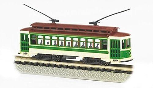 Bachmann Brill Trolley - Grün - N Scale by Bachmann Trains