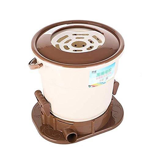 HXCD Mini-Machine à Laver compacte Portable combinée laveuse et sécheuse à Double Baignoire idéale pour Les dortoirs Appartements RV's College Rooms Camping