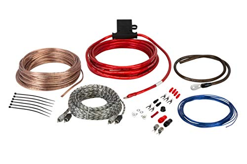 Scosche Install Centric ICAK8 True 8 Gauge 2-Channel 680 W Max Complete Car Amp Installation Wiring Kit
