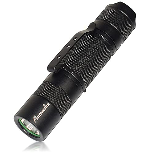 Activefire Mini AA Pocket Flashlight,Super Bright Lumens Waterproof Keychain LED Torch,Handheld Flashlights with Clip,Powered by AA or 14500 Batteries,Bright Led Light,for Night Read and Emergency