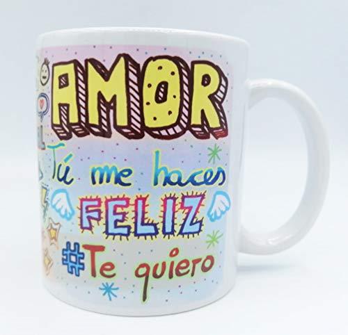 Taza ''Amor Frases'