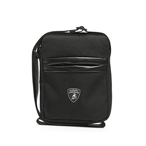 LamborghiniNero Black Messenger Bag