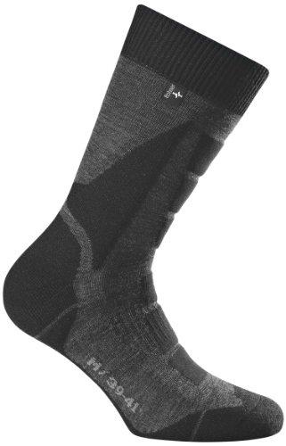 Rohner Socken Trekking Socken Back-Country L/R, anthrazit, 42-44, 62_2101