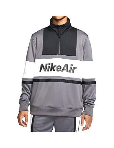 NIKE Sudadera Air Dark Grey/White Hombre XL