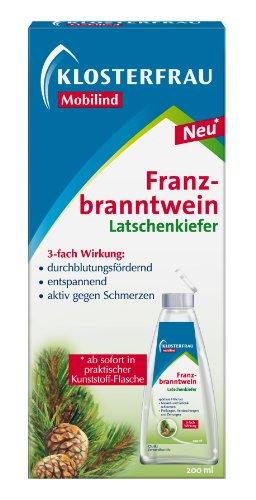Klosterfrau Mobilind Franzbranntwein Latschenkiefer/Zur Unterstützung bei der Therapie von Gelenk- und Muskelschmerzen