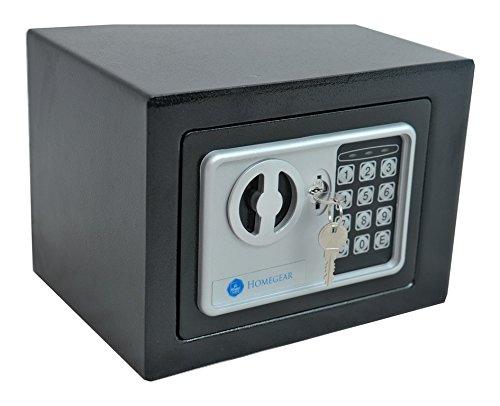 Homegear Small 0.23CF Electronic Safe Gun Money Passport Home Hotel Office Wall Cabinet Photo #3