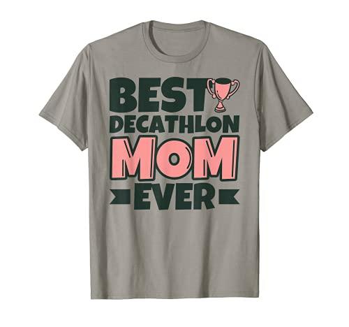 Mejor decatlón mamá siempre madre divertido Camiseta