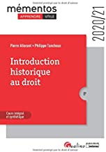 Livres Introduction historique au droit : Notions fondamentales et repères chronologiques indispensables à la compréhention PDF