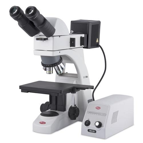 Motic 1100100403584, BA310Met-H Binocular Metallurgical Compound Microscope