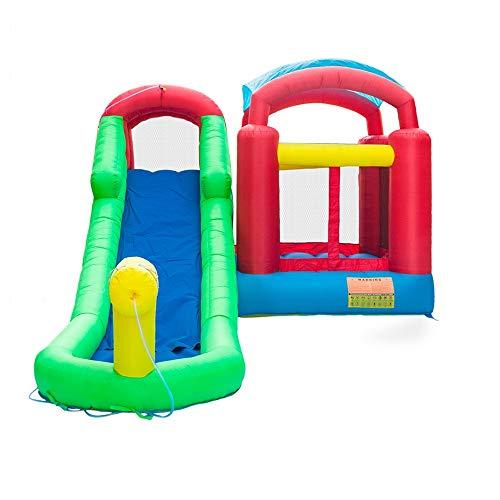 TXOZ-Q Slide Heavy-Duty 420D Oxford Inflable Agua Piscina casa de la Despedida Castillo Jumper (18.7ft 11.6ft x x 8,2 pies)