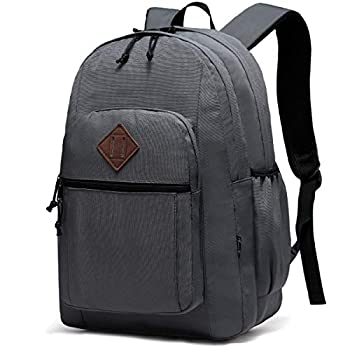 Backpack for Men and Women,ChaseChic WaterResistant Lightweight School Backpacks 15-in Laptop College Travel Bookbags,Gray