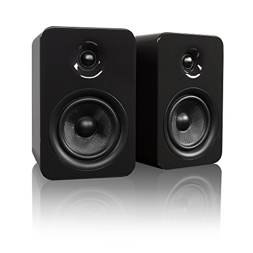 Kanto YUMI Passive Bookshelf Speakers - Gloss Grey (YUMIP-GRYGL)