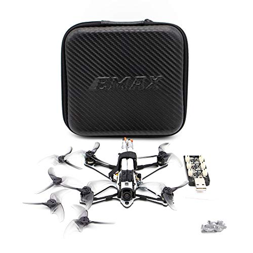 Goolsky EMAX Tinyhawk Freestyle 115mm Racing Drone 2,5 Zoll Propeller F4 5A ESC Brushless Motor 600TVL FPV Racing RC Drone BNF Version für RC Einsteiger