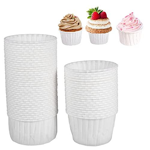 BESTONZON - Stampini da muffin e cupcake in carta, 100 pezzi