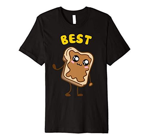 Kawaii Peanut Butter - Jelly - 1 2 BFF Best Friends Matching Premium T-Shirt