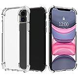 Migeec Hülle für iPhone 11 Transparent [Stoßfest] Weiche Silikon [Kratzfest] Flex TPU Bumper...