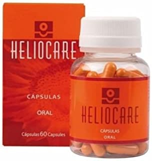 HELIOCARE ORAL 60 CAPSULES CAPSULAS PILLS MELORA AESTHETICARE ANTIOXDIANT