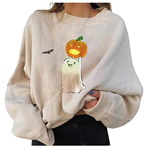 Damen Rundhals Langarm Bedruckte Sweatshirt Damen Pullover Tops