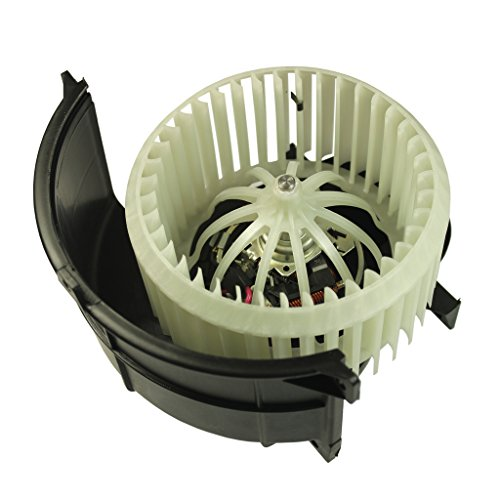 JDMSPEED New Heater Blower Motor & Cage Front Replacement For Audi Q7 Volkswagen VW Touareg