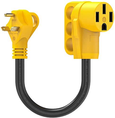 Kohree 30 Amp to 50 Amp RV Plug Adapter